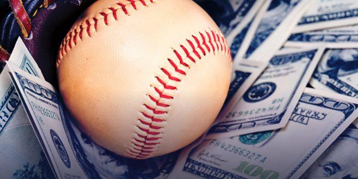 Make Money Booking Baseball concept